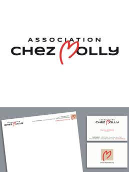 CHEZ MOLLY, logo design