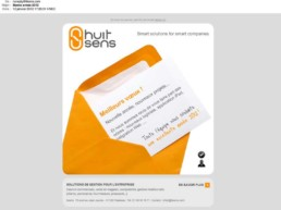 8SENS voeux 2012, emailing